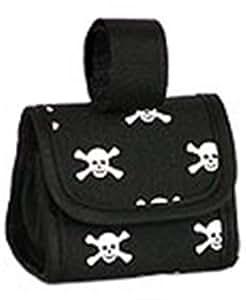 Five Star Pet Products Skull Print Bag Dispenser Black