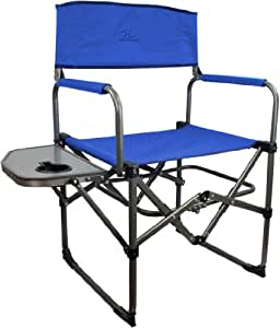 Highlander Directors Camp Chair Blue Sports Outdoors