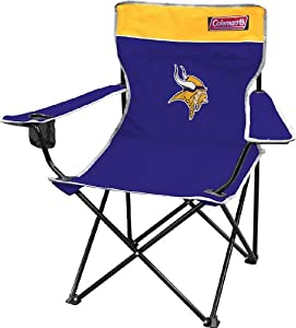 NFL Minnesota Vikings Coleman Folding Chair With Carrying Case by Licensed Products