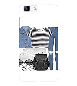 EPICCASE OOTD Mobile Back Case Cover For Vivo X5 (Designer Case)