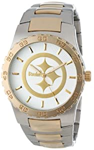 Game Time Mens NFL-EXE-PIT Pittsburgh Steelers Watch by Game Time
