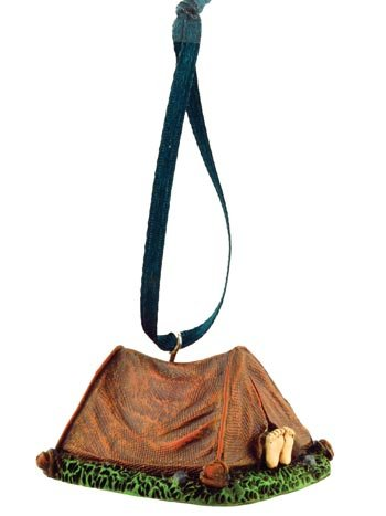Camping-Tent-Figurine-Ornament-2-inch-Hanging-Tree-Decoration