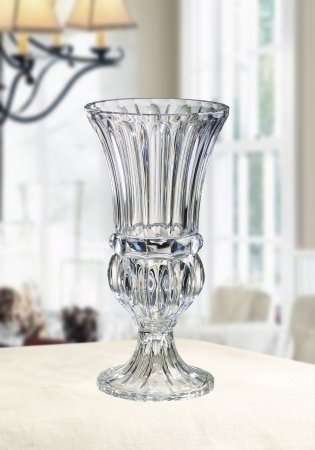 Hurricane Vases Fifth Avenue Crystal Athena Pedestal Hurricane Vase