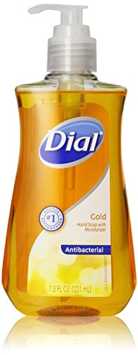 Dial Liquid Hand Soap, Pump, Gold, 7.5 Ounce (Pack of 6) (Liquid Hand Soap Dial compare prices)