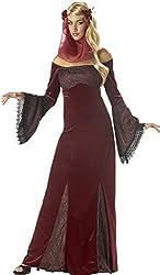 Adult Renaissance Maiden Costume Dress