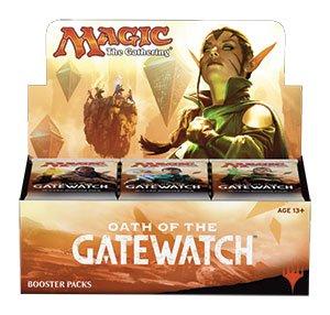 2 (Two) Player Booster Draft Set: Magic: the Gathering - MTG: Oath of the Gatewatch / Battle for Zendikar (1v1 Draft - 6 Total Packs)