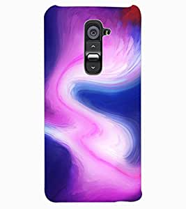 ColourCraft Colour Abstract Design Back Case Cover for LG G2