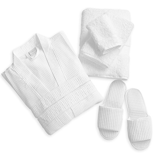 luxor-linens-luxury-100-cotton-giovanni-spa-set-robe-slippers-3-piece-towel-set-1-set-perfect-for-a-