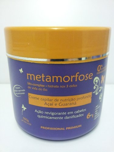 Metamorfose Acai & Guarana Salt-free Deep Nutrition Hair Cream for Damaged Hair by Metamorfose