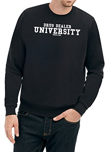 drug-dealer-university-sweater-nero-certified-freak-l