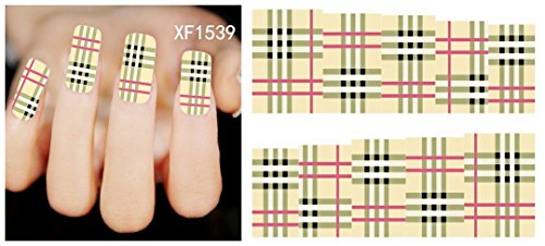 nicedeco-nail-adesivi-colori-brillanti-tartan-design-nair-adesivo-full-wrap-per-nail-art-per-unghie-