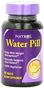 Natrol Water Pill Tablets 60-count by Natrol