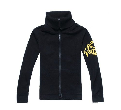 One Piece Trafalgar Law nuovo mondo cosplay giacca ,TagliaXL(altezza 172cm-178cm, peso 70-80 kg)