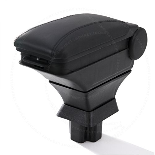 LT Sport SN#100000000883-230 For Toyota Black Arm Storage Box Center Console Armrest (2001 Toyota Sequoia Armrest Cover compare prices)