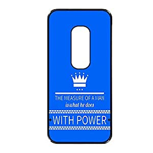 Vibhar printed case back cover for Motorola Moto X (2nd Gen) WithPower