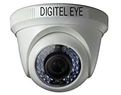 Digitel Eye DE -D150AH36 (1.0 MP) AHD Camera 720P DOME CCTV Security Camera with Night Vision