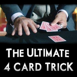 Ultimate 4 Card Trick by George Bradley - Trick