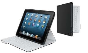 Logitech FabricSkin Keyboard Folio Carbon Black for iPad 2 and iPad (3rd/4th generation) (920-005370)