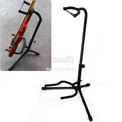 Guitar Folding Fold Tripod Gear Tubular Acoustic Electric Guitar Stand Tk0746