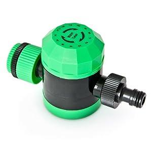 Timer per il tubo dell 39 acqua di irrigazione timer 5 120 for Temporizzatore irrigazione giardino