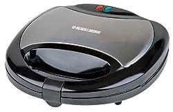 Black & Decker TS2080 750-Watt 2-Slice Multiplates Sandwich Maker