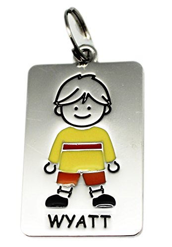 Ganz Kids Tag Charms - My Kids Keyring and Necklace - WYATT