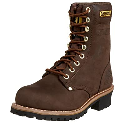 "Amazon.com: Caterpillar Men's Logger 9"" Logger Boot: Shoes"