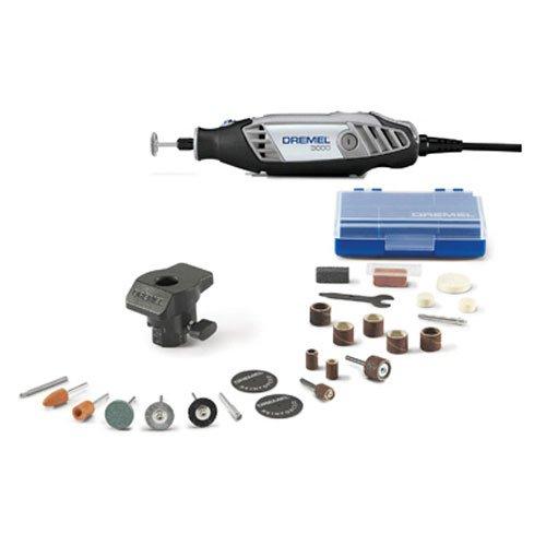 Dremel 3000-1/24 1 Attachment/24 Accessories Rotary Tool (Tamaño: 25 Piece Kit)