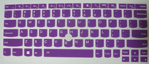 Click to buy HYAIT 1Pcs Colorful Silicone Keyboard Protector Skin Cover for ThinkPad X230S X240 X240S YOGA S1 SEMI-PURPLE - From only $120