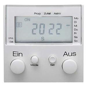 Berker Lichtschaltuhr pws 17361909 + Display  Kundenbewertung und Beschreibung