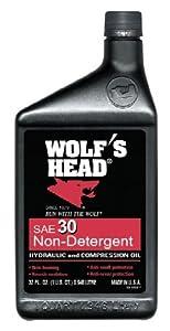 "Yankee Warehouse Inc WOF5302 ""Wolf's Head"" Motor Oil - 1 Qt(pack of 12)"