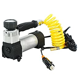Kensun Portable Travel Heavy Duty Multi-Use Air Pump Compressor/Inflator