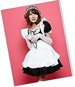 Madonna Lily Shop高質感 メイド コスチューム/コスプレ 人気モデル ブラック