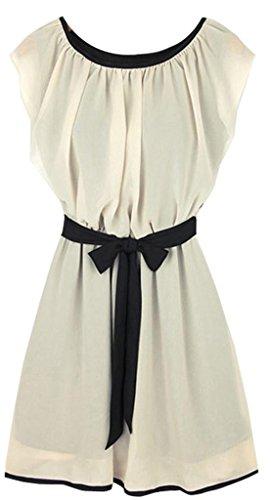 Women'S Boho Maxi Dress Chiffon Sleeveless Pleated Slim Cocktail Sundress S -Xxl