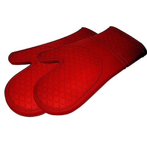 These Silicone Oven Mits Are Beautiful Red Oven Mits Which Can Be Used As Commercial Oven Mits. These Kitchen Oven Mits Are Great Kitchen Gadgets And Kitchen Gadgets For Men. These Creative Kitchen Gadgets Are The Best Kitchen Gadgets 2012 And Are Terrifi front-350056