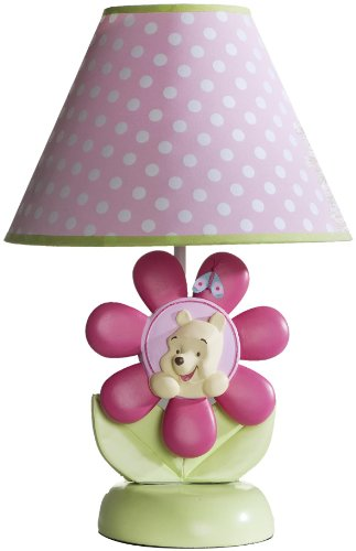 Disney Pooh Spring Friends Lamp Base And Shade