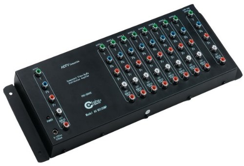 Ce Labs - Hdtv Distribution Amp *** Product Description: Ce Labs - Hdtv Distribution Amp 1-Input, 9-Output Distribution Amp Distributes Component A/V To 9 Hd Monitors New Digital Chip Technology Ensures No Signal Loss Cascadable To Multiple Amps ***