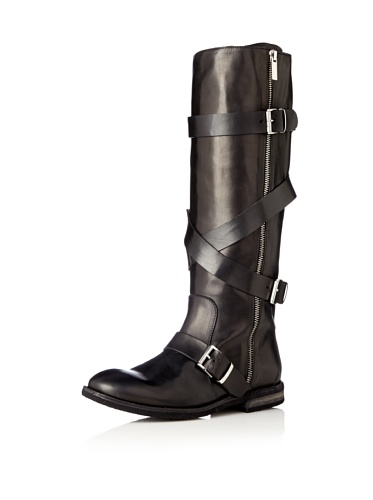 Tentazione Women's Borgo External Zipper Boot