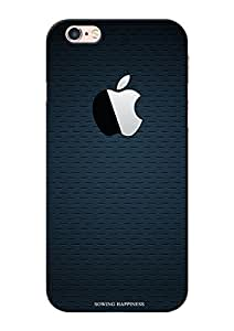 Sowing Happiness Printed Back Cover For Iphone 6S