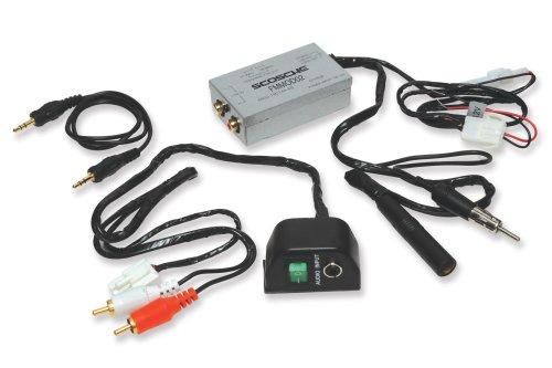 Scosche FM-MOD02 Universal Audio Input FM Modulator for iPod, Satellite Radio or Portable Music Player (Fm Modulator Aux Input compare prices)