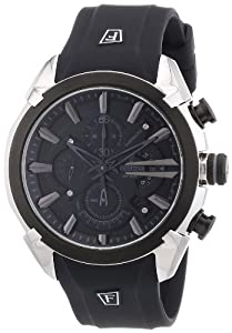 Festina Men's Sport F6819/5 Black Rubber Analog Quartz Watch with Silver Dial