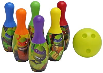 What Kids Want Teenage Mutant Ninja Turtles Licensed Bowling Set by What Kids Want
