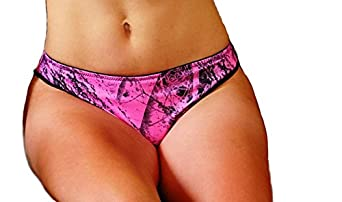 Weber Camo Leather Goods Naked North Pink Camo Pantie Xl