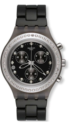 Swatch Full Blooded Stoneheart Silver Unisex Watch SVCM4009AG