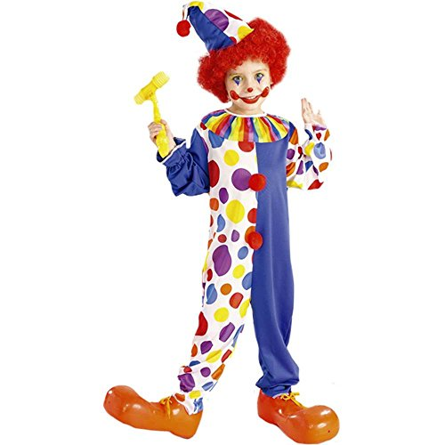 Classic Clown Kids Costume