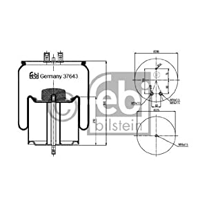 Febi Bilstein 37643 Boot, air suspension