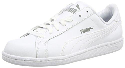 Puma Smash L, Scarpe da Ginnastica Basse Unisex Adulto, Bianco (White 02), 43 EU