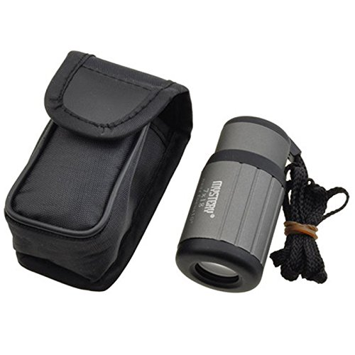 Hde Compact Pocket Size 7X18 Adjustable Focus Monocular Telescope