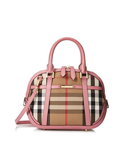 Burberry Women's Small Orchard Satchel, Mauve Pink