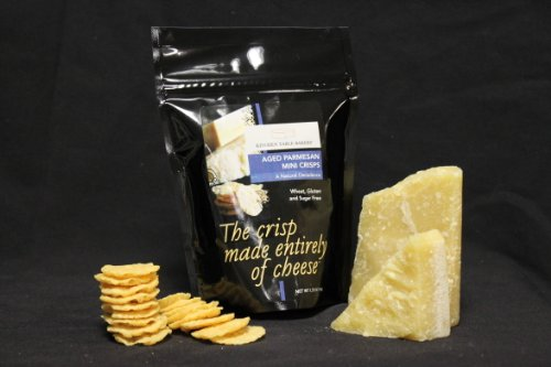Kitchen Table Bakers Aged Parmesan Mini Crisps Packages Pack Of 3 Food Beverages